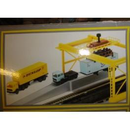 LIMA Container Verladeanlage Station H0